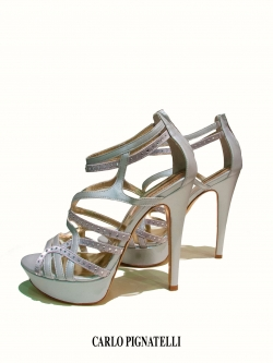 Wedding, evening shoes Carlo Pignatelli (art.28Z6757P)