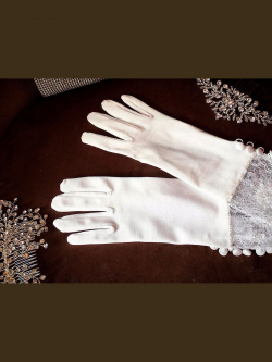Wedding gloves 4819