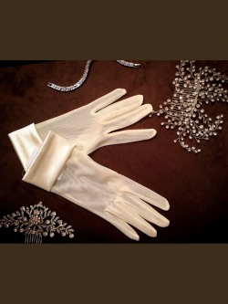 Wedding gloves 419
