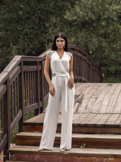 Bridal jumpsuit 913