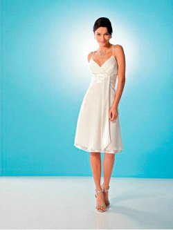 Short evening dress (art. D1125)