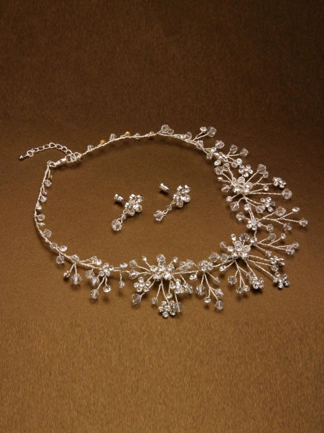 Necklace with earrings Pina (art.NB168)