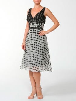 Short evening dress (art.8117)
