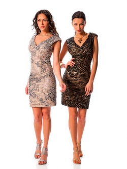 Short evening dress (art.D1302)