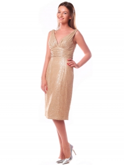 Short evening dress (art. 9956)